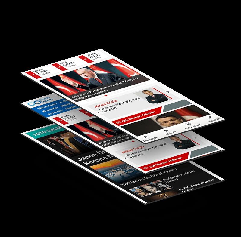 mobil haber sitesi